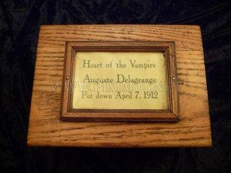 Mummified Vampire Heart is for Sale on Ebay