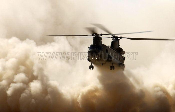 Helicopters CH-47 Chinook