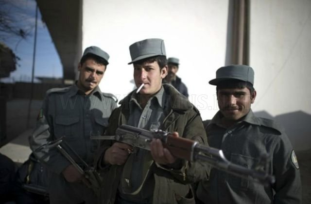 Working Routine of Afghan National Police