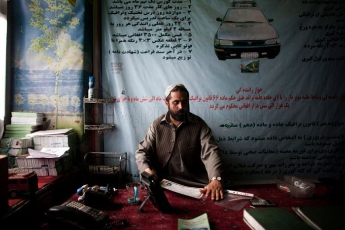 Driving School in Kabul, Afghanistan