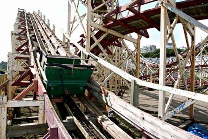 Abandoned Roller Coaster