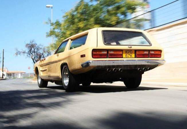 Rocket on wheels - The Beast