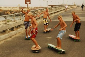 HamBoards' Skateboarding and Surfing