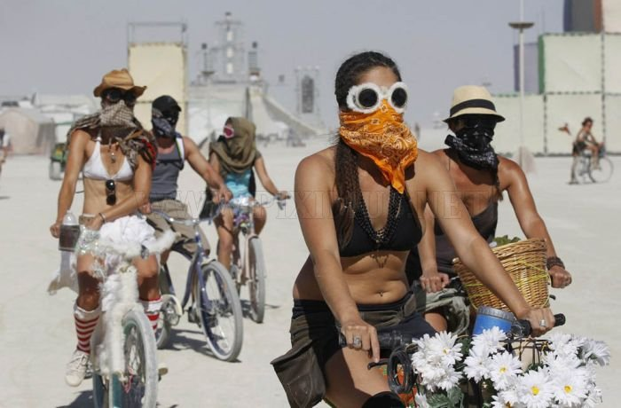 Burning Man Festival 2011 in the Black Rock Desert