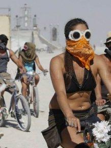 Burning Man Festival 2011 in the Black Rock Desert