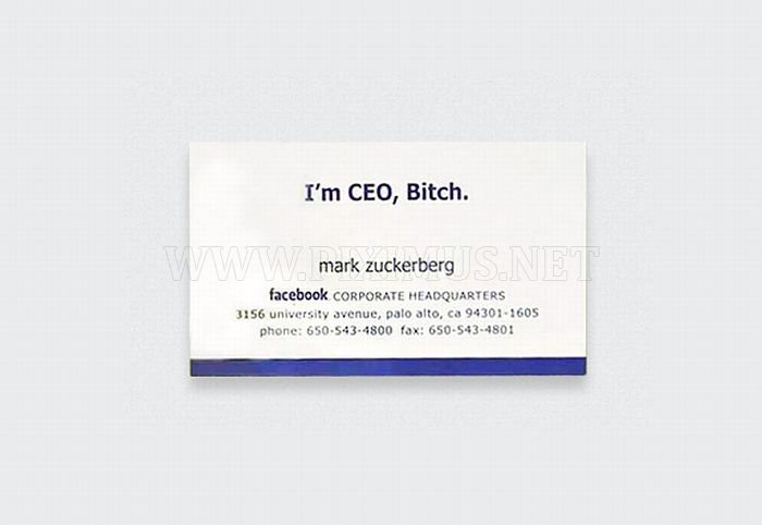 TOP 10 Famous Business Cards