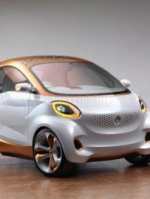 Smart Forvision Concept Car