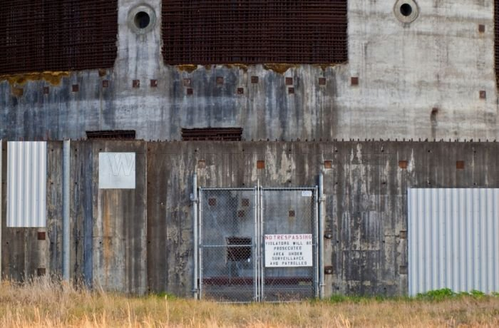 Abandoned Satsop Washington Nuclear Plant in Tacoma
