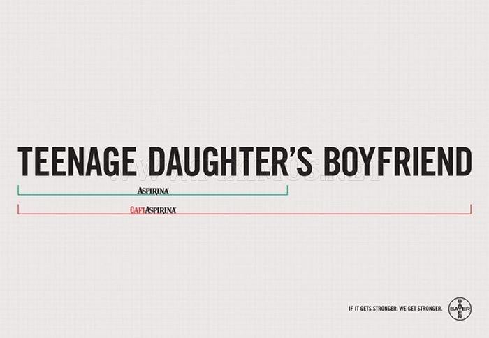 Brilliant Minimalist Print Ads, part 2