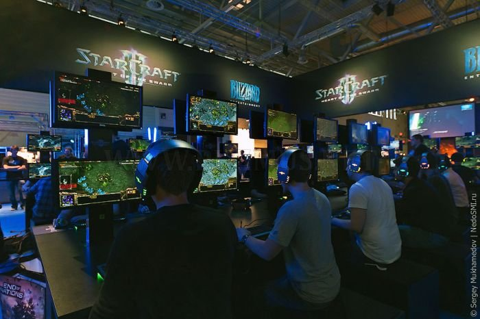 Gamescom 2011 Trade Fair in Germany