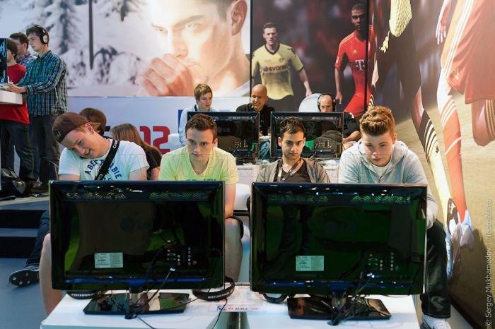 Gamescom 2011 Trade Fair in Germany