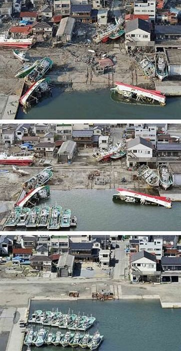 Japan: Six Month After Destructions