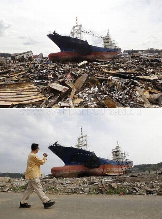 Japan: Six Month After Destructions