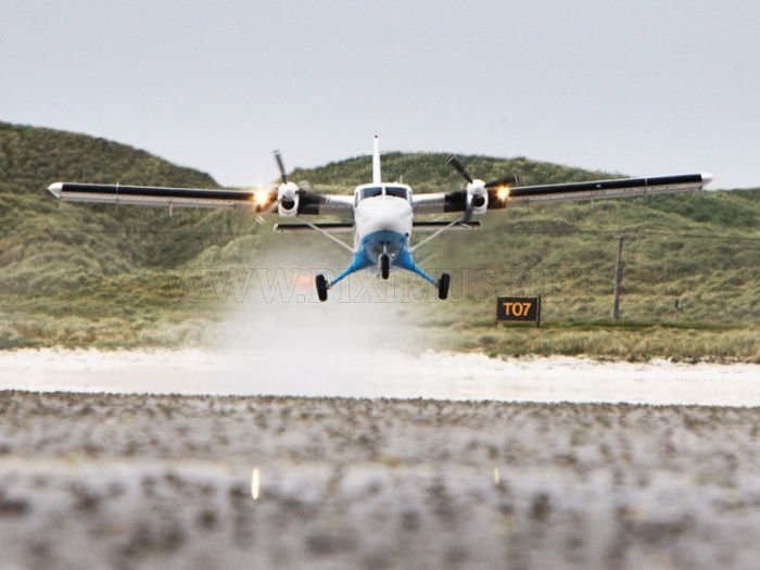 The World's Dangerous Barra Beach Airport