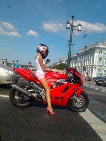 Emma - Biker girl