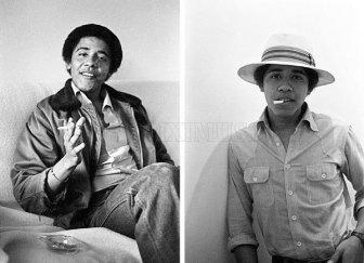Obama in College