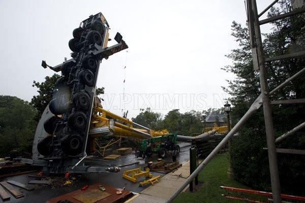 500-meter crane fell in Washington