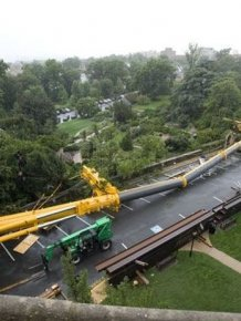 500-meter crane fell in Washington