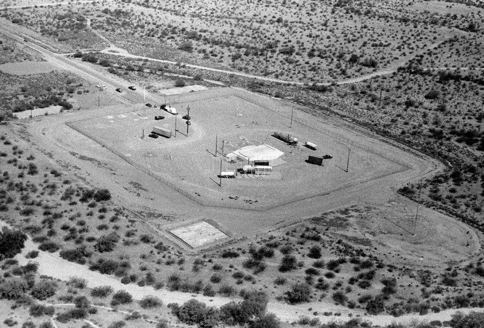 Nuclear missile silos