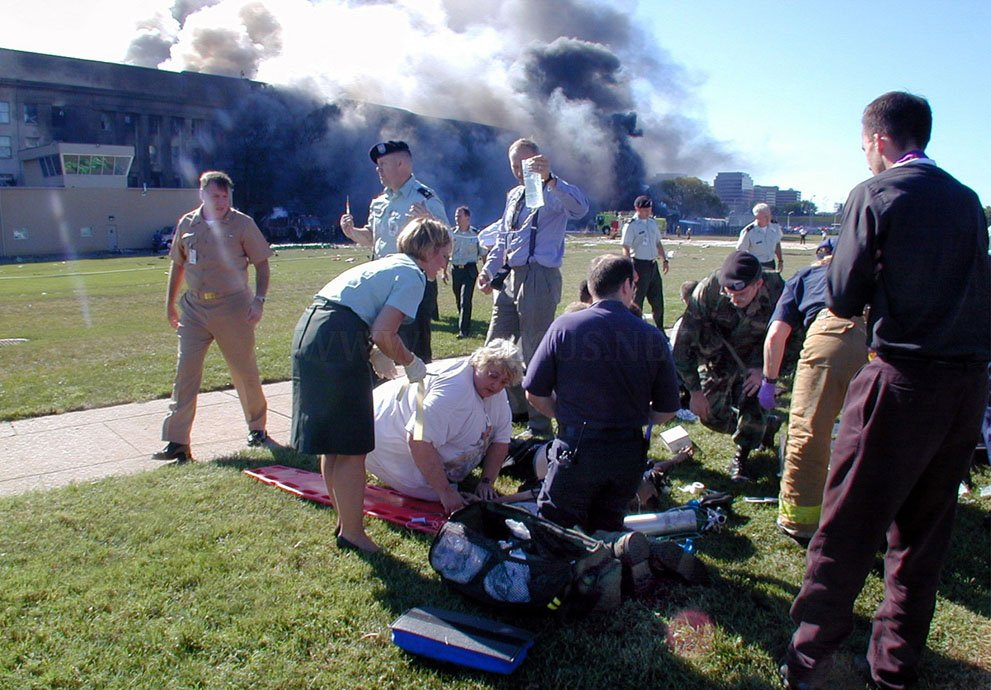 Photos of the terrorist attacks September 11, 2001, part 2001