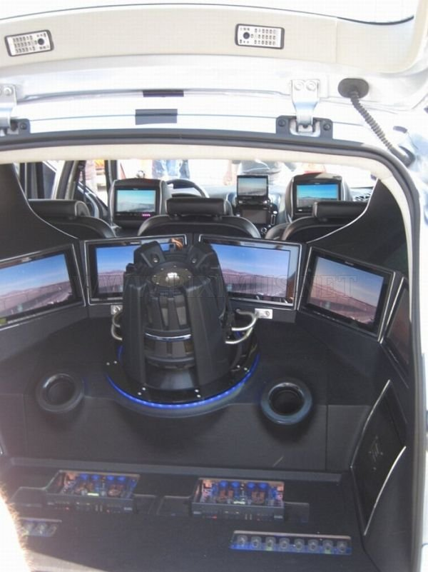 Strange Car Interior Tuning