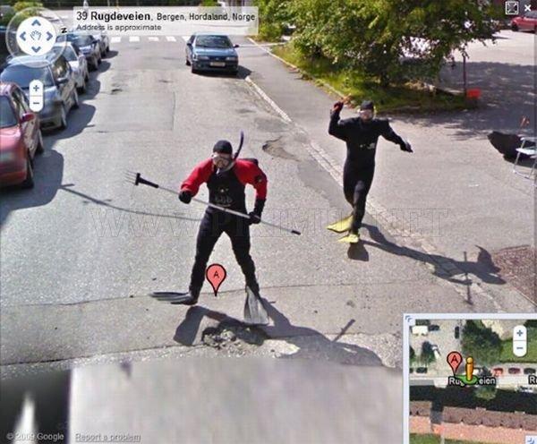 Strange Google Street View Images