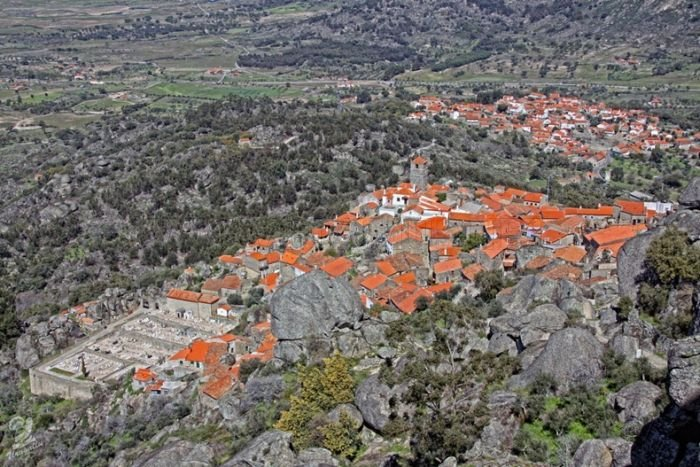 Awesome Portugal Village Monsanto Built Among Rocks