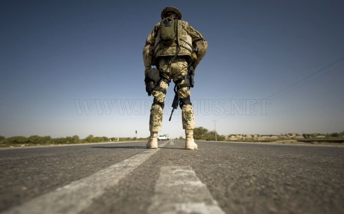Military Men All Over The World