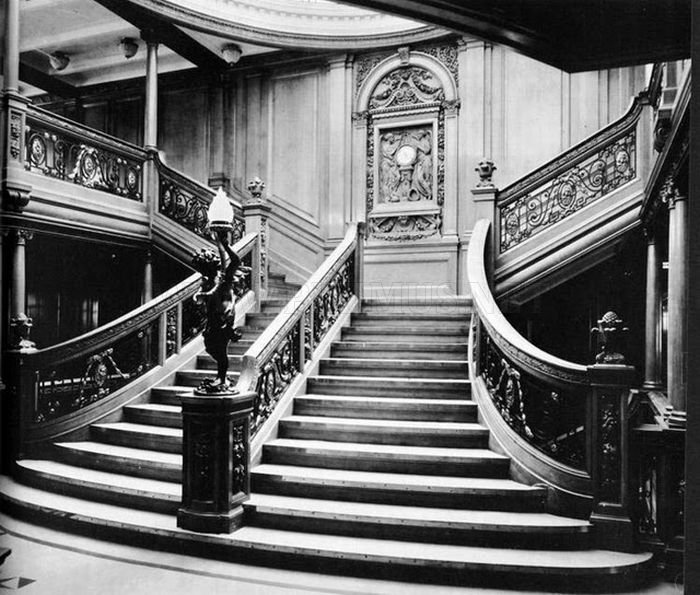Inside The Titanic Before It Sank Inside The Titanic Ship Before