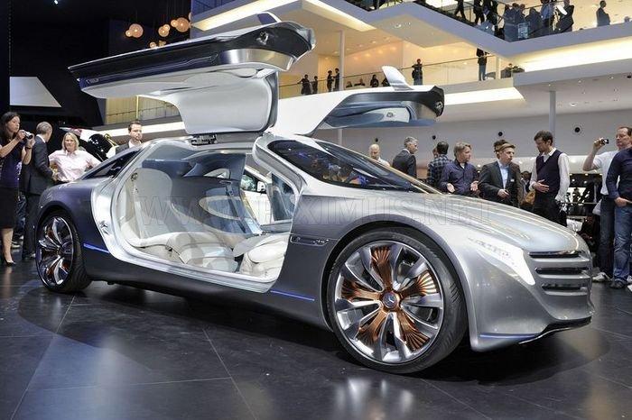 Mercedes-Benz έννοια F125