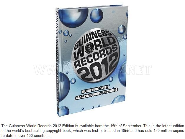 Awesome Guinness World Records 2012 , part 2012