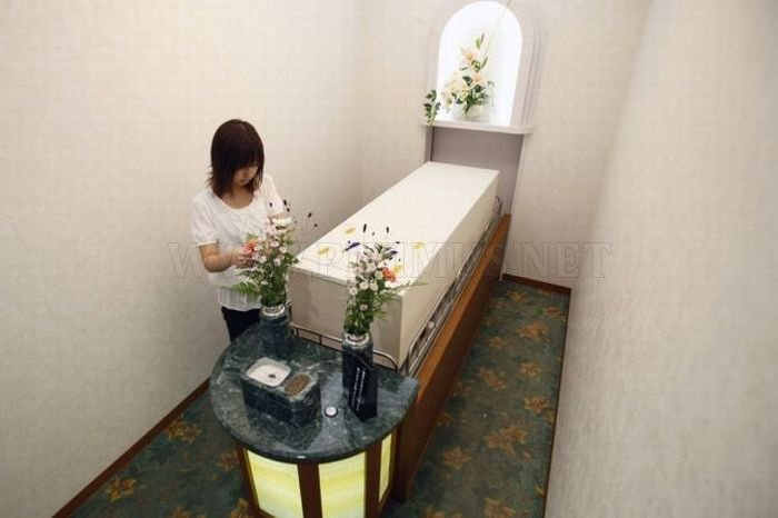 Weird Hotel for the Dead in Japan