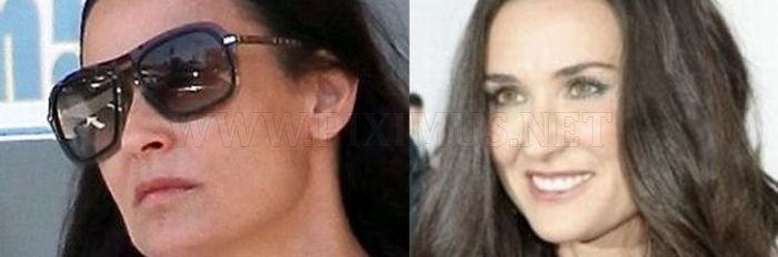 Celebrities Before and After Makeup