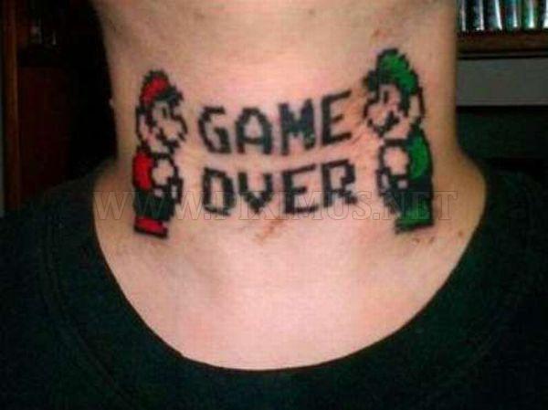 Video Game Tattoos