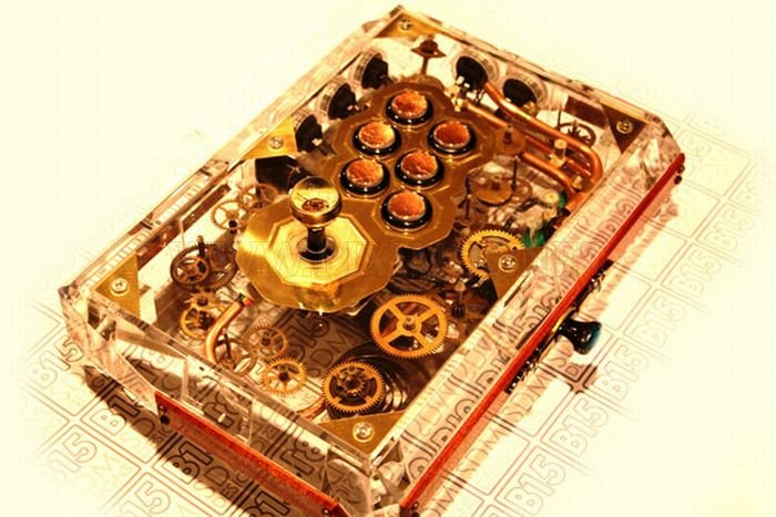 Awesome Steampunk FightStick by SDM Designs