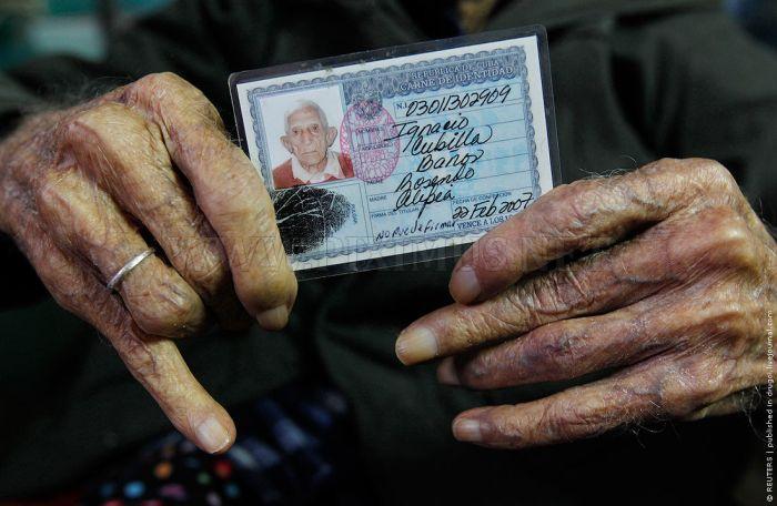 111-Year-Old Man