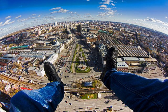Extreme Rooftop Photography