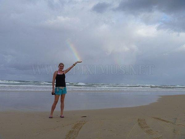 Play with rainbow