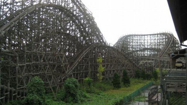 Creepy Abandoned Roller Coasters