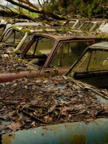 The Final Resting Place of 1000 Cars in Switzerland