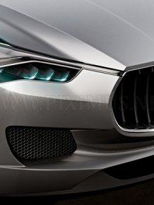 Luxury SUV by Maserati
