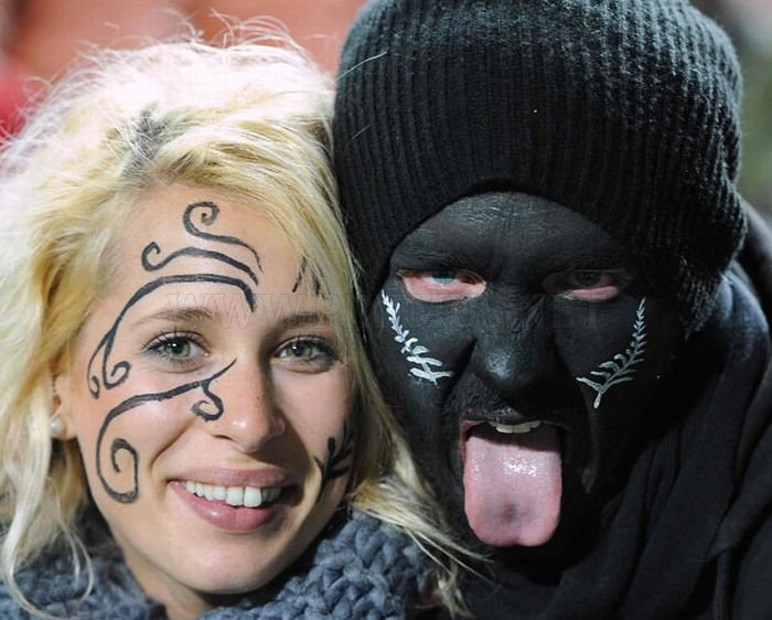 Hilarious 2011 Rugby World Cup Fans in New Zealand