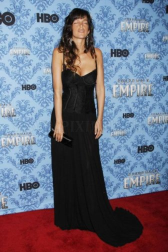 Paz de la Huerta Posed Drunk at The Premier of Boardwalk Empire