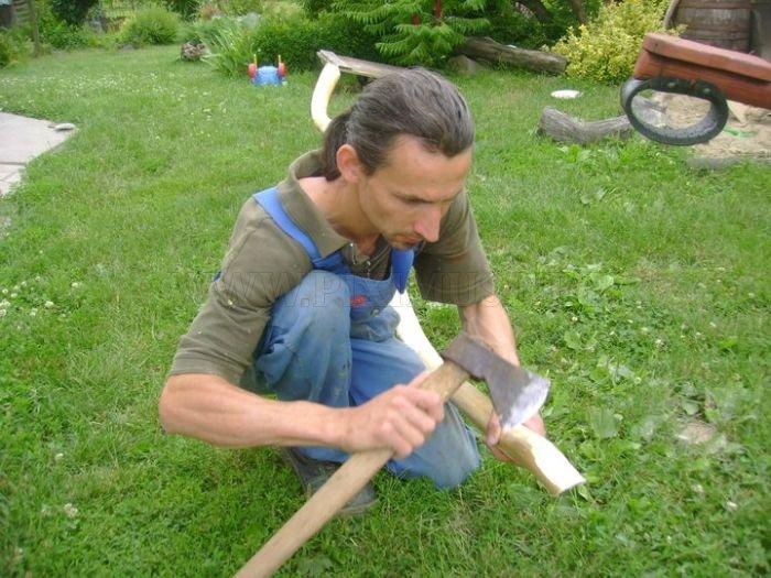 Hand Made Garden Art From Hungary