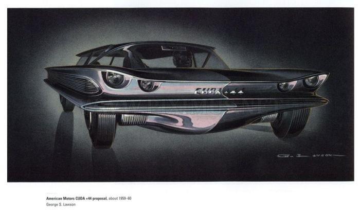 Retro car concepts