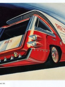 Retro car concepts