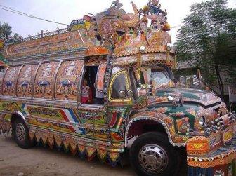 Tuning truck in Pakistan