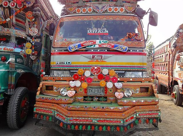 Tuning truck in Pakistan