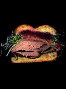 Yummy Sandwich Photography