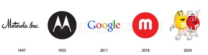 Past and Future Famous Company Logos